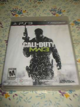 Juego Call Of Duty Mw3 Ps3 En Caja C/manual Impecable