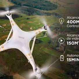 Drone T70 con cámara hd