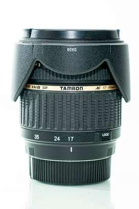 Lente Tamron 18-50 f2.8 para Pentax