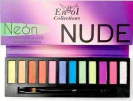 Paleta nude tonos neon