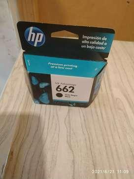 Vendo cartucho HP 662 sin uso