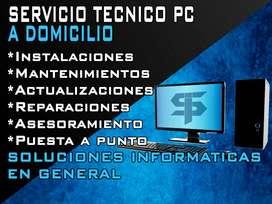 Técnico PC a domicilio