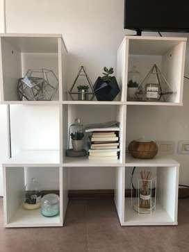 Vendo modular cubos living/dormitorio/recibidor/otro