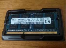 Memoria Ram Ddr3 8gb Laptop Pc3 Y Pc3l, Bus 1600