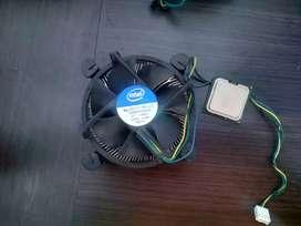Procesador Intel 4 pentium + Ventilador Fan Intel DC12V