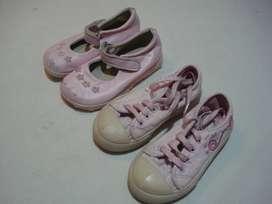calzado de nena usado n.24 (X2)