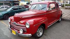 Clasico Ford Coupe colepato 1946