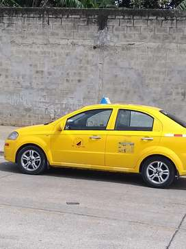 Taxi combustible  Gas y gasolina