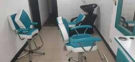 Se venden muebles para peluquería