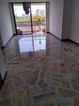 Cristalizado lavado brillado de pisos