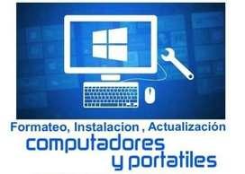 Formateo de Computador Instalación ReparaciónPCProgramas