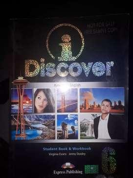 Libro de inglés Discover