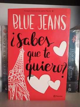 Sabes que te quiero Blue Jeans Canciones para Paula 2 Libro