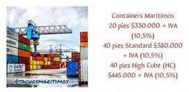 Venta y Transporte de Containers Marítimos