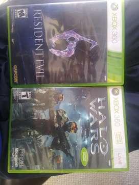 Resident Evil 6 y Halo Wars