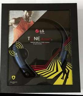 Vendo audifonos bluetooth LG Tone Active+ con parlantes externos