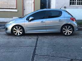 Peugeot 207 GTi 1.6 Turbo 156hp Fase 1 (el mas full) 2011 impecable 77000km