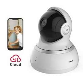 Cámara Inalámbrica vigilancia YI Dome ángulo Antonio 720p rotación app movil