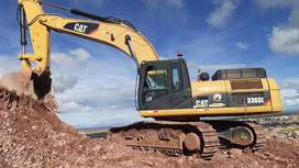alquiler de excavadora 336 DL