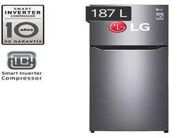 Refrigeradora No Frost LG GT22BPPD 187 Litros Electrodomesticos Jared