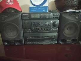 En venta Radio Grabadora Sony