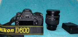 Perfectas condiciones Nikon d600