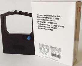 Cinta p. Impresora Okidata Microline 182 - 320  Seamless c/entintador