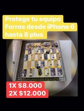 Forro iphone 6-8 plus