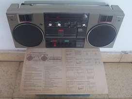 RADIO 3 BANDAS STEREO GRABADOR CASSETTE NOBLEX RC 503 JOYA