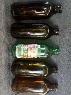 Botellas Aceite antiguas-coleccionista Vacias