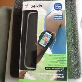 Brazalete Belkin Slim Fit Armband. Samsung Galaxy S5, S4. Original.