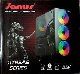 Pc Janus Amd Ryzen 3-2200g 3.5 Ghz,ram 8gb Rgb,disco 240gb
