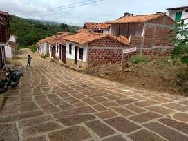 Se vende o se permuta lote urbano en Barichara