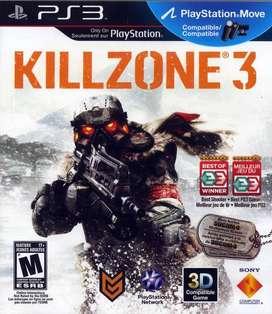 Killzone 3 ps3 usado-fisico