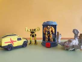Art 37 Lote de Tranformers Coleccion 2007 Mc Donalds Burger King