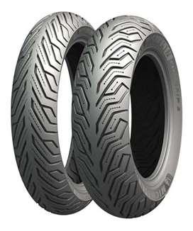 Llanta N-MAX Michelin130/70-13 CITY GRIP TL TRASERA N-MAX