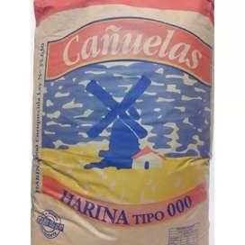Harina cañuelas 000 de 50 kilos