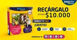 Kit antena satélital prepago Direct tv