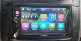 Radio pantalla táctil para carro
