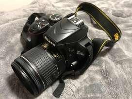 Vendo Nikon D3400 como nueva
