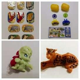 Lote de 5 juguetes Kinder Sorpresa y Kinder Joy