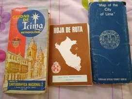 Mapas de Lima antiguos