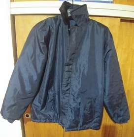 Campera Impermeable Azul Talle L, Zona Norte!!