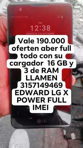 LG x POWER TO FULL