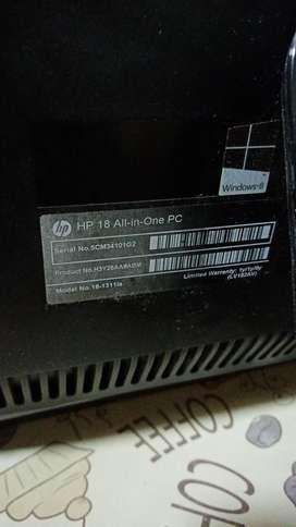 COMPUTADOR MARCA HP// NEGRO