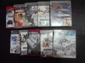 Vendo video juegos Play 3