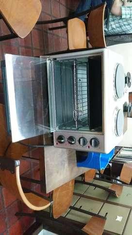 Vendo horno electrico con anafe