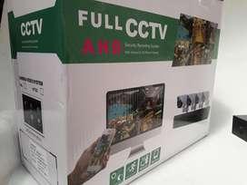 Kit Seguridad 4 Camaras AHD 1080 Dvr 4 Ch Cables Full con o sin Disco Duro