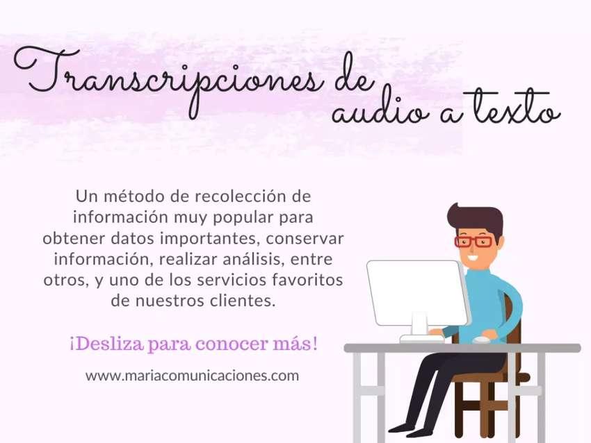 Transcripciones de audio a texto - Valle del Cauca 0