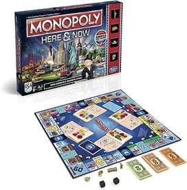Juego de mesa Monopoly en ingles